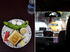 Traveler's first day; Kolkata YMCA's breakfast in India