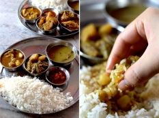 Delicious & cheap Shantiniketan in India