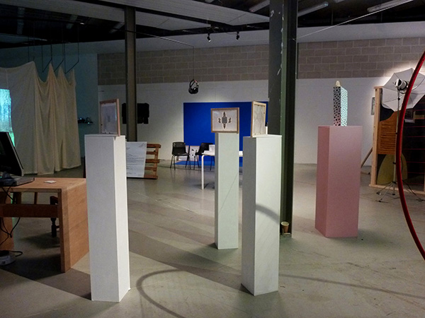 Installation exhibition for beyond romance